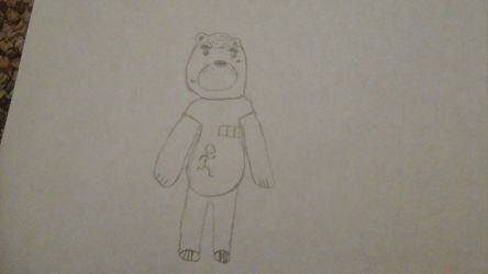 my first deviation (brownie the bear) by Anthonydabest