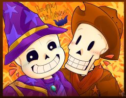 Happy Halloween Undertale by thunderbolt3000