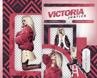 PACK PNG 863| VICTORIA JUSTICE by MAGIC-PNGS