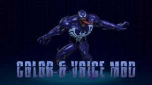 Venom Color and Voice Mod for MvCI by Fewtch