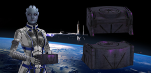 Liara's Time Capsule from Mass Effect 3 for XNALar by Melllin
