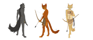 archer pack preview pose reference for drawing