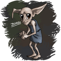 Bingo the house elf by Thea0605