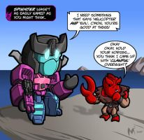 Lil formers - Spinister by MattMoylan