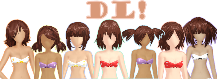 UPDATE! Watchers Gift part 1 HAIRS DL! by DIBUJOSLOVE