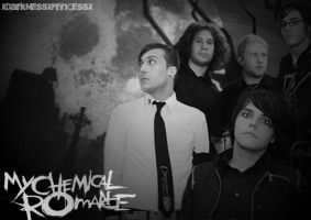 my chemical romance by XDarkNessXPrinCessX