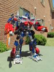 ROTF Optimus Prime custom by Unicron9