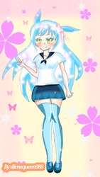 Redraw of my oc wendy by slimequeen988