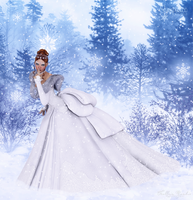 Winter Bride by Frollein-Zombie