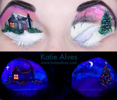 Black Light Christmas by KatieAlves