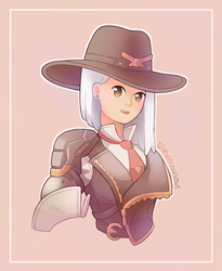 Ashe by TheOceanOwl