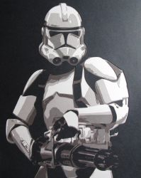Clone Trooper 2 by Papergizmo