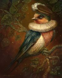 The Swallow by PinkParasol