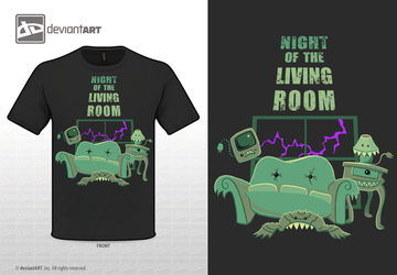 Night of the Living Room by THEoriginalADAM