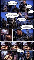 ME3:Funny Moment Between James and AAGun Terminal by UltimateZetya