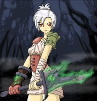 LoL - Riven, the Exile by hiryurhys