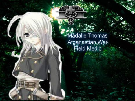 Madalie Thomas Field Medic by Ninjagirl16100