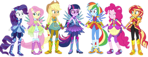 Guards of Harmony but with normal hairstyles by LimeDazzle
