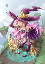 Witch of the Sky by Felune-Bun