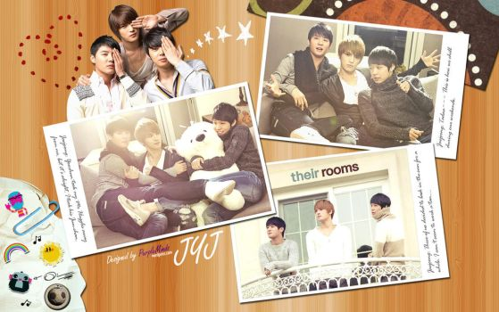 JYJ - Their Rooms by chibimisao