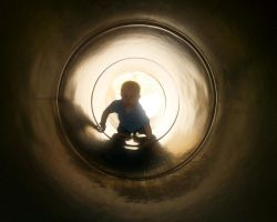 Jacob in tunnel by MrDannyD
