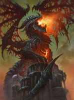 Deathwing, Dragonlord. by AlexHorley