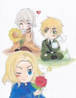APH - Russia, England, France by DiedOfEyes