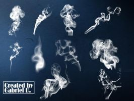 smoke brushes by g-dufresne