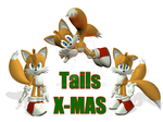 Tails Christmas by imago3d