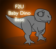 [ F2U ] Baby Dino Base by CherrysDesigns