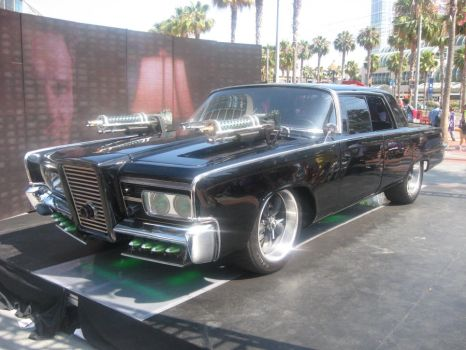 The Green Hornet Black Beauty Car by granturismomh