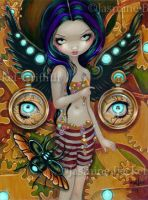 Mechanical Angel III by jasminetoad