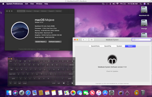 macOS Mojave Unsupported Axiotron Modbook by MacThePlaneh