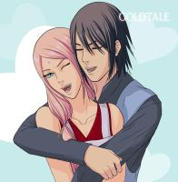 SasuSaku by goldtale