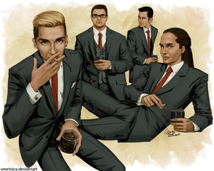 TH Suits by umetnica