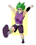 Spike - Human by Valo-Son