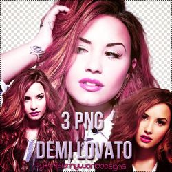 3 pngs Demi Lovato by ThisIsMyWorldDesigns