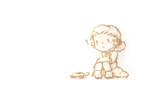 Laurens And A Turtle by xOmqKatrina