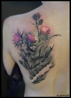 Thistle2 by grimmy3d