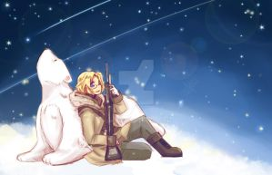 Snow and Stars  APH by jinyjin