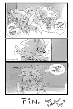 Cupid Sonic 8 by Drawloverlala