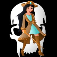 Disney Pirate: Jasmine by Willemijn1991
