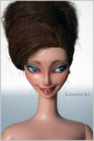 Dolores OOAK Doll Repaint by kamarza