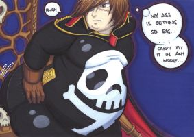 extra harlock by prisonsuit-rabbitman