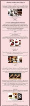 Basic Cake/Cupcake Recipe, Toppings and Ideas by claremanson