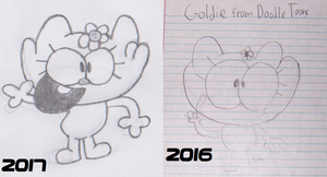 Goldie Today vs Last Year by Waltman13