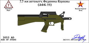 RE TOZ AFK-33 PDW by DaltTT