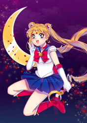 Sailor Moon by enzouke