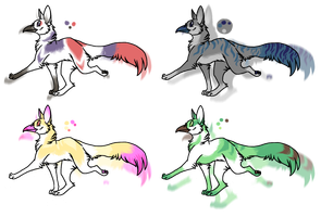 beaked dogs - adoptable by Pimsri