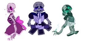 Skeleton Adopts 2 [CLOSED] by SmasherlovesBunny500